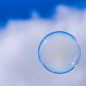 Overal bubbels