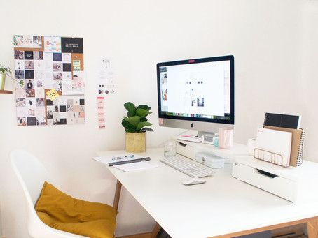 How to organise your desk in 5 steps