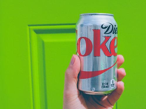 Coke diet x 6