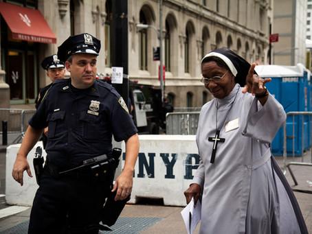 A Nun.