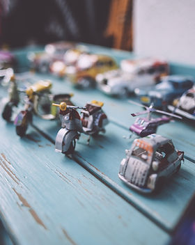 Cars, planes, bikes, trucks, trains, spaceships