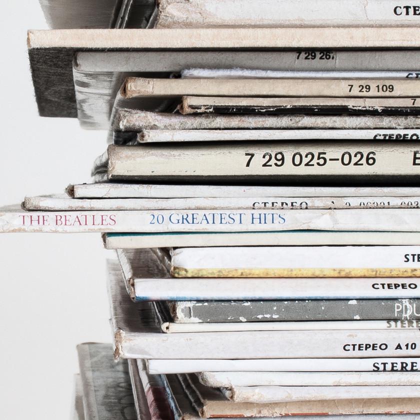 Vinyl pile yoga practice at home pratique de yoga à la maison playlist