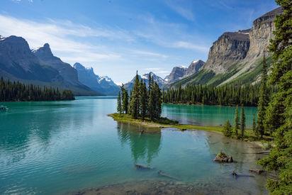 Lugares que ver en Maligne Lake