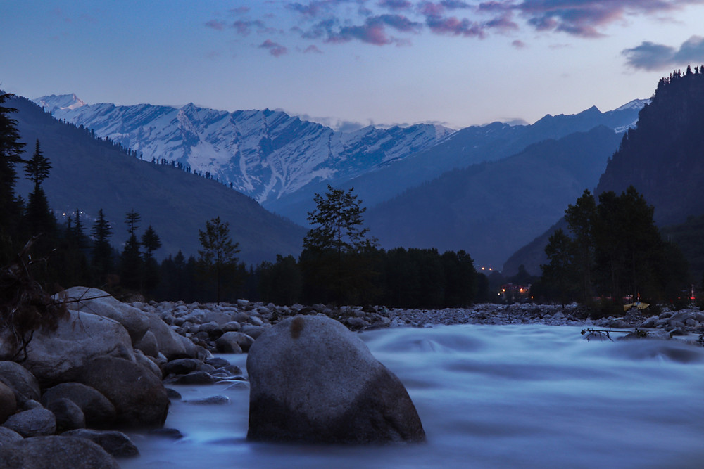 A breath taking picture of Manali Resort Town