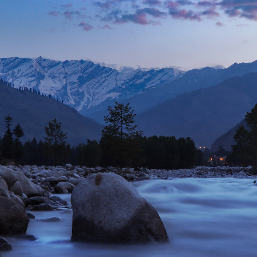 beautiful view in manali
