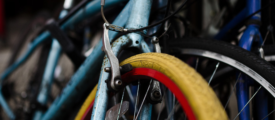 Cykelrensning gjord