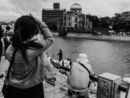 """""""Witnessing Nuclear Carnage, Then Devoting Her Life To Peace"""" from The New York Times"""