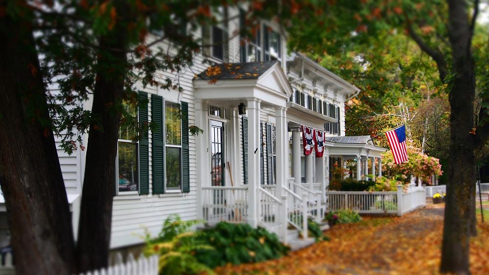 historic home in Woodstock Vermont