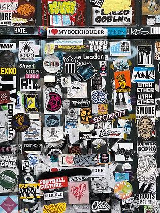 Smokin' Ace Logo Stickers