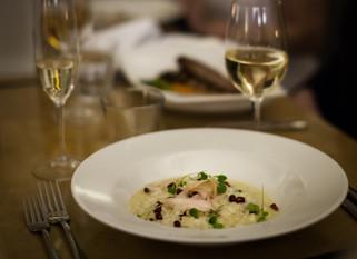 Chef Gianluca Deiana Abis: Risotto Allo Champagne/Champagne Risotto