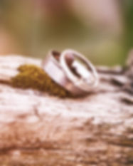 Wedding rings. Image by Denny Müller