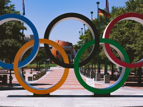 Olimpíadas e lugares incríveis