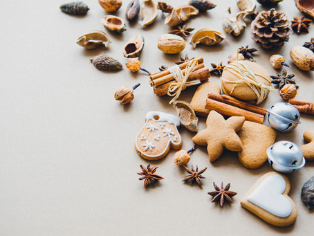 THE SIMPLEST CHRISTMAS COOKIES EVER | 3 INGREDIENT SHORTBREAD