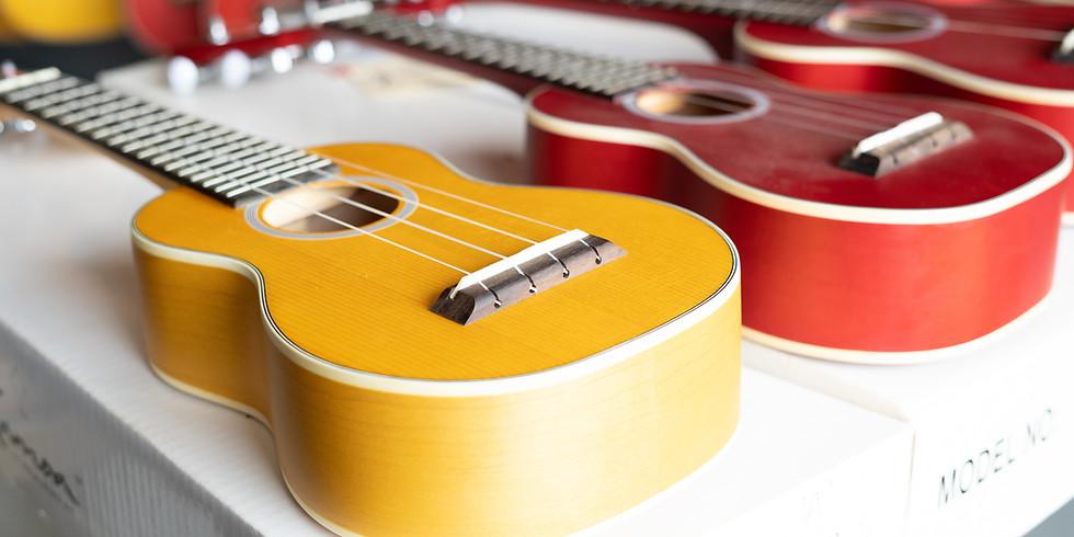 Learn to play the ukulele! - school holidays