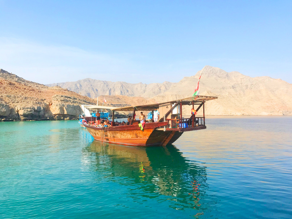 Image by Musandam Dhow Tours