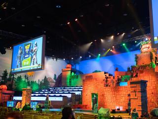 LED екран за Gaming събитие