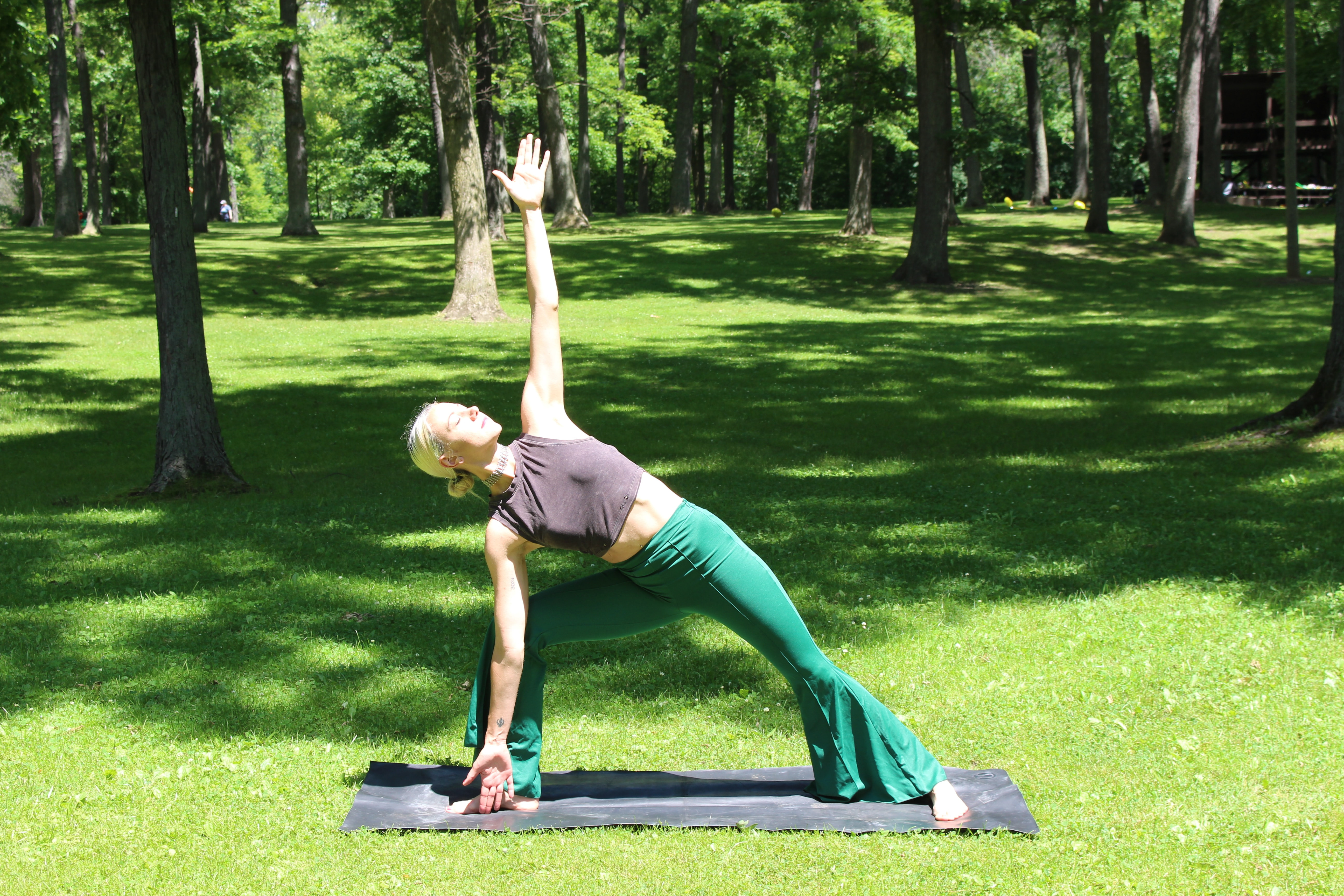 Yoga with Ruth, In the Park