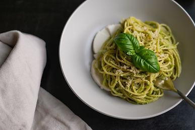 Quick Garlicky Zucchini Pasta