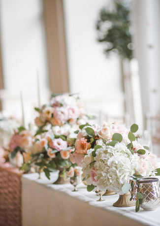 Wedding Flower Centrepiece and tablescapes