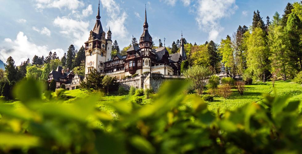 castle romanian