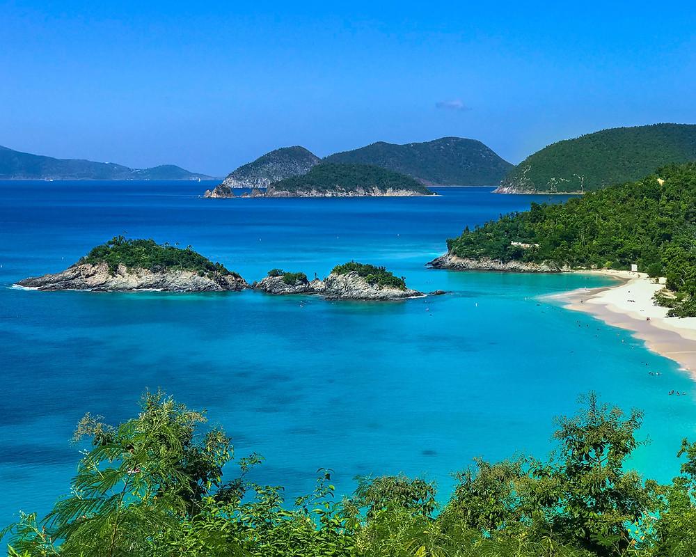 US Virgin Islands Turquoise Waters
