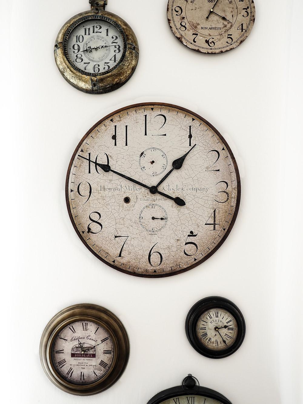 Depth in Difference Wonderland clocks antique