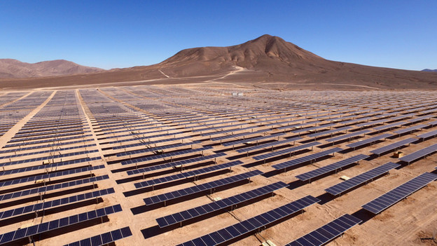 Solar thermal power station in Egypt