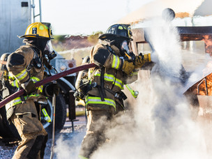 Relation between myocardial ischemia and career length among firefighters