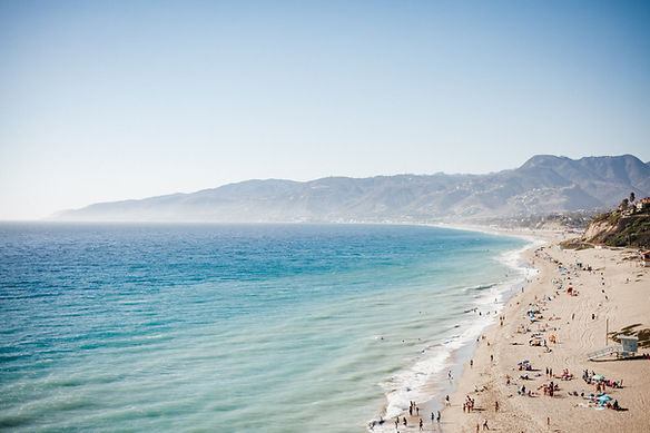 Malibu, Los Angeles, California, Beach, surf