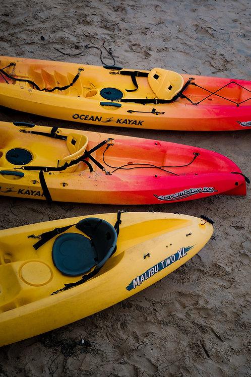 Kayak Weekly Rate (5 - 8 Night Stay)
