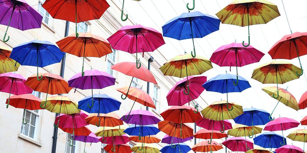 The Perfect Parasol Garden