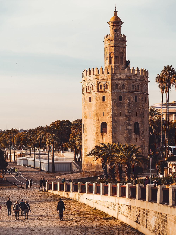 Torre del Oro Sevilla Los mejores lugares de españa para visitar en 2020