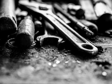 Professionelt værktøj var ikke privat indbo