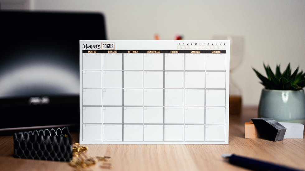 Planner com coteúdo para instagramer iniciante