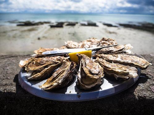 Un-Shucked Oysters Xmas Eve