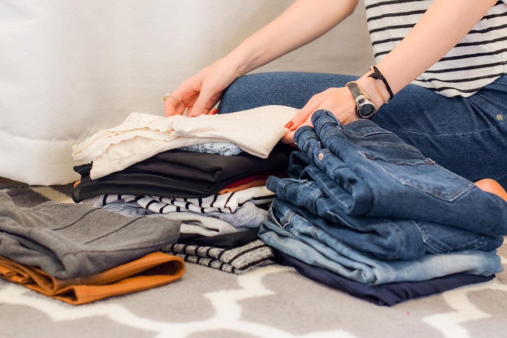 Tips for decluttering and organizing the wardrobe