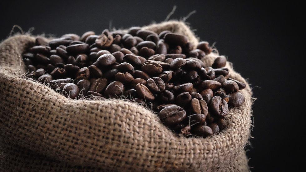 Bag of Ethiopian Coffee Roasted