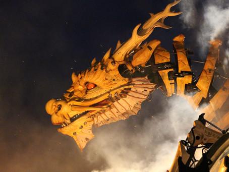 El Portfolio Dragón y la alegoría del halcón y la serpiente.