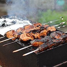 Shish kebab Meal