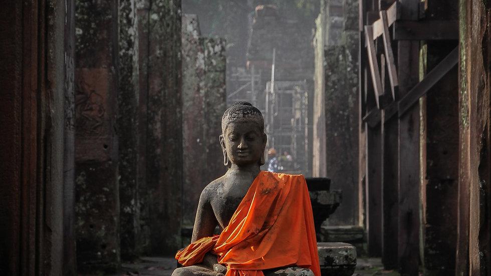 Les dix doigts du Bouddha Éveillé
