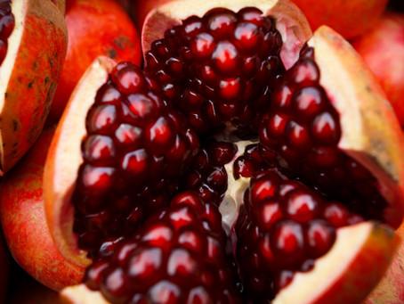 Granada, la súper fruta antioxidante