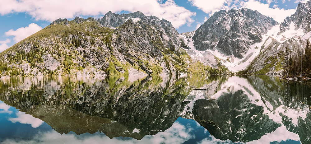 enchantments in the US world's best hike