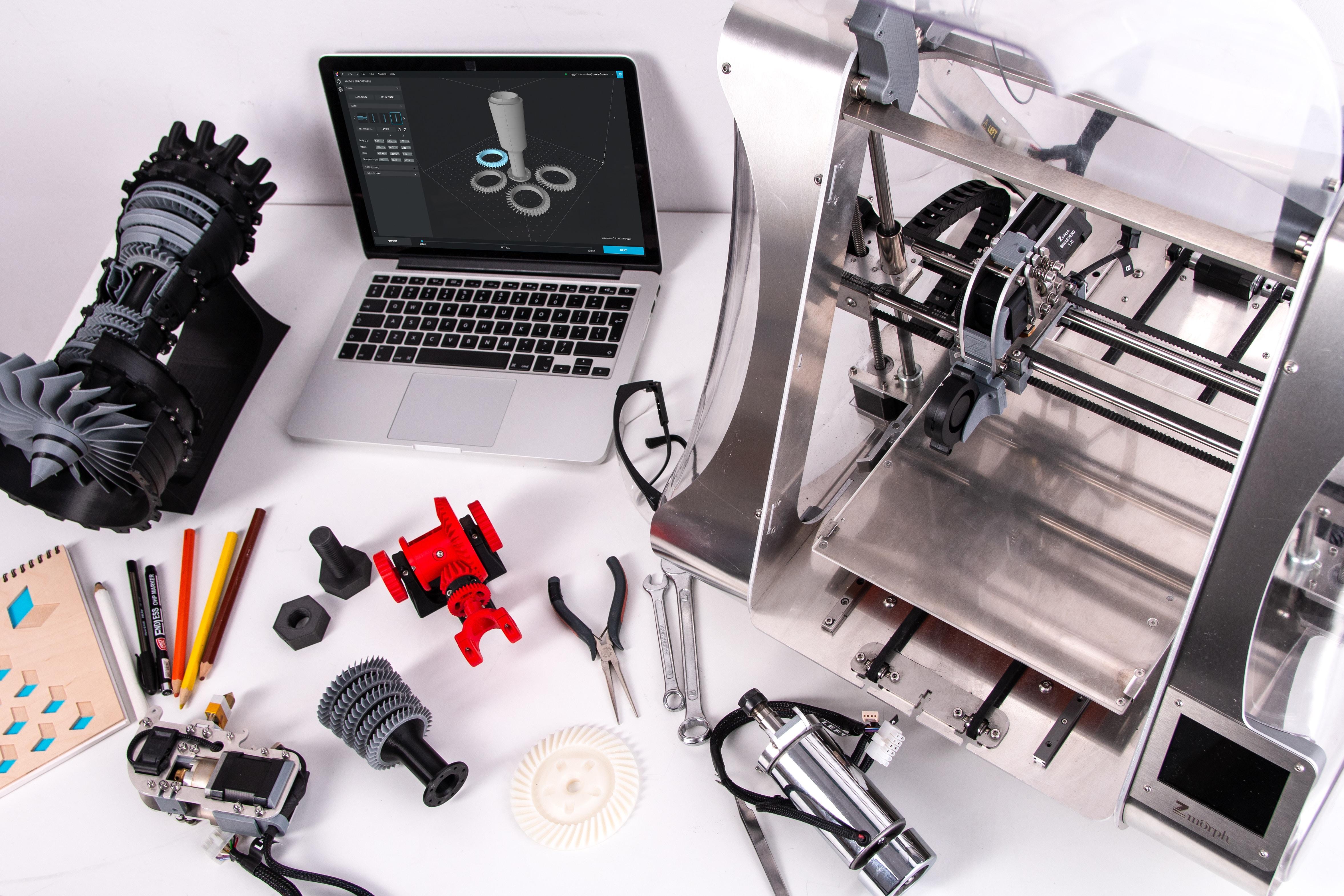 Image by ZMorph Multitool 3D Printer
