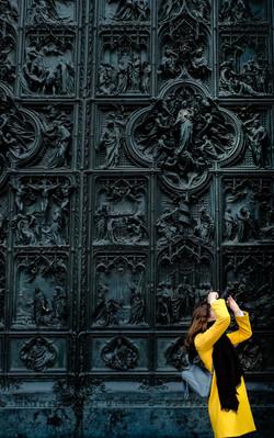 Duomo's door