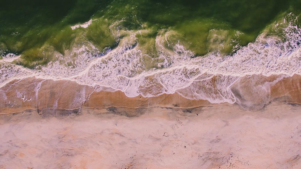 sandy beach in Key West