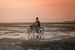 Bike Near Water