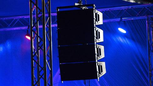 Stage light & Sound