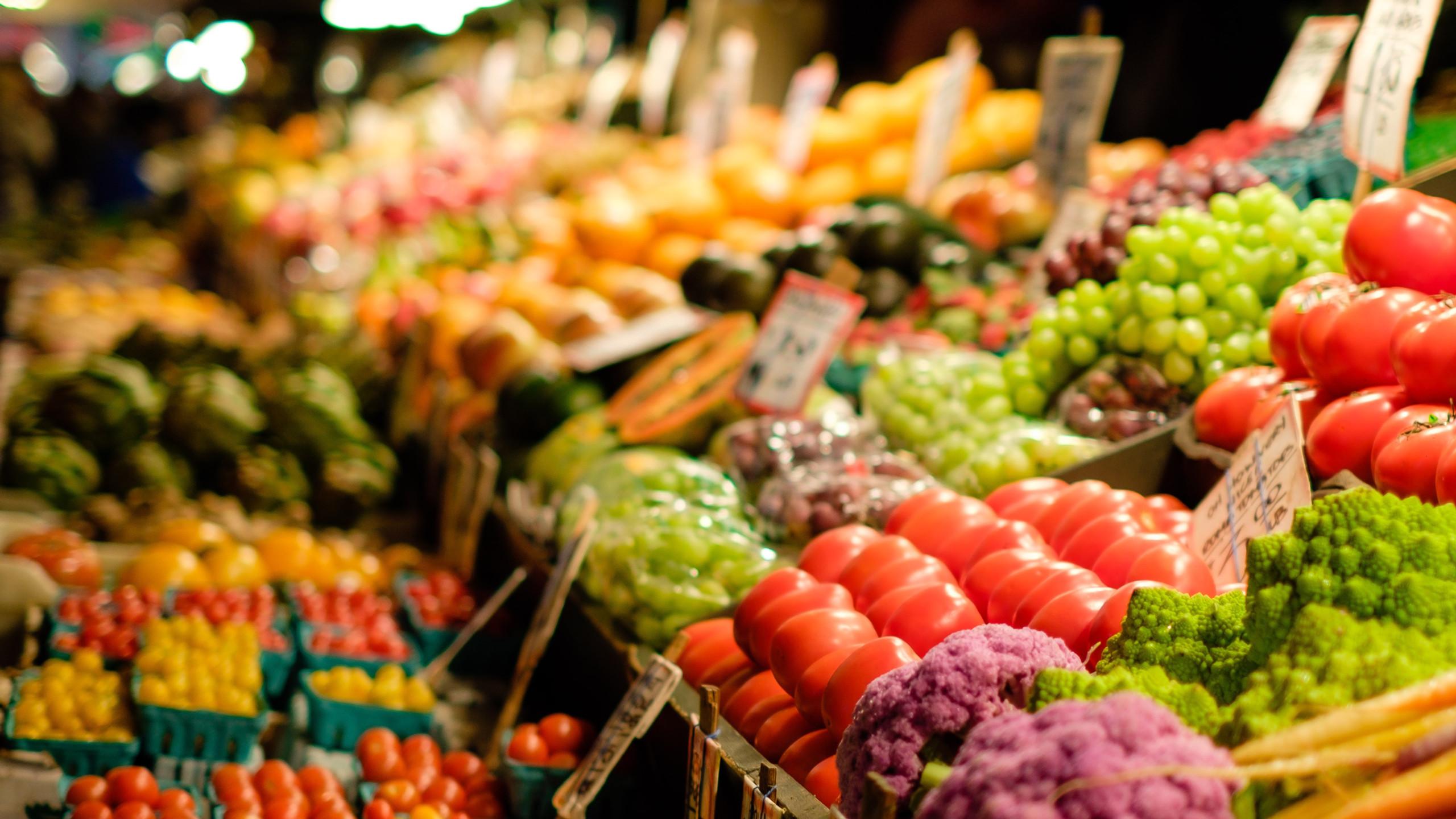Фрукты и овощи, Кромвель, Новая Зеландия