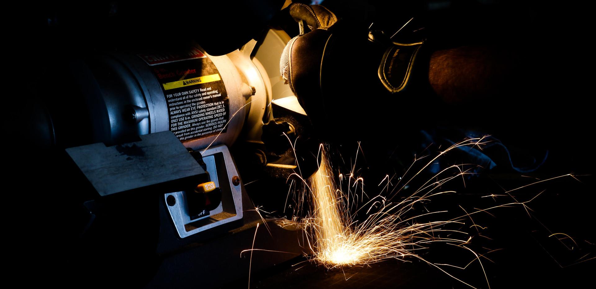 Welding, Machine Work, Sandblasting