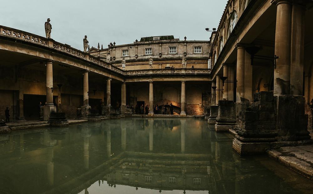 Roman Baths Historic Site Visit Bath UK